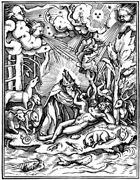 Holbein's Dance of Death - The Creation
