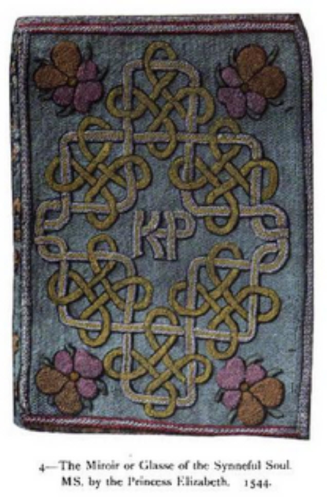 embroidered books and book binding